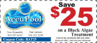 Black Algae Treatment Coupon