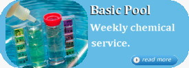 Basic Pool Chemcial Service